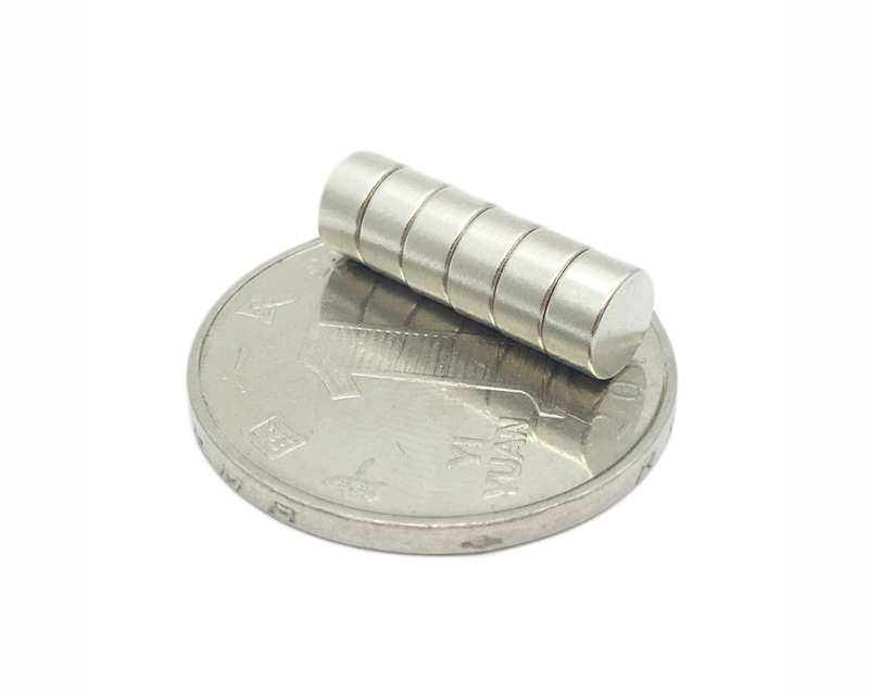 Round Permanent Magnets Small Disc Rare Earth Neodymium Magnet