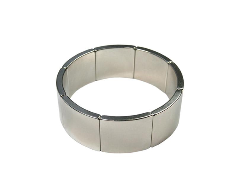 厂家直销电机马达钕铁硼磁瓦 瓦型钕铁硼强力磁瓦 异形瓦磁磁石