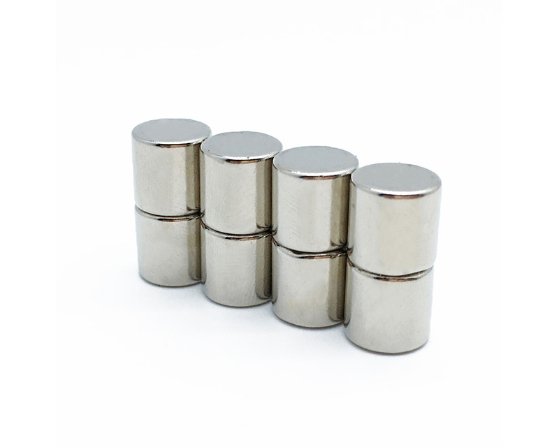 磁立方自产自销的钕铁硼材质的圆柱磁铁