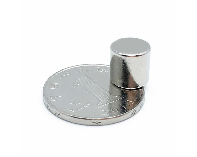 10*10磁铁 圆形磁铁 圆片磁铁 圆柱磁铁 磁铁吸铁石钕铁硼强磁