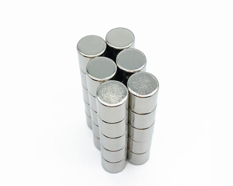 厂家生产磁铁圆形 强力磁铁圆形 n50高温 钕铁硼磁铁 强磁磁铁片