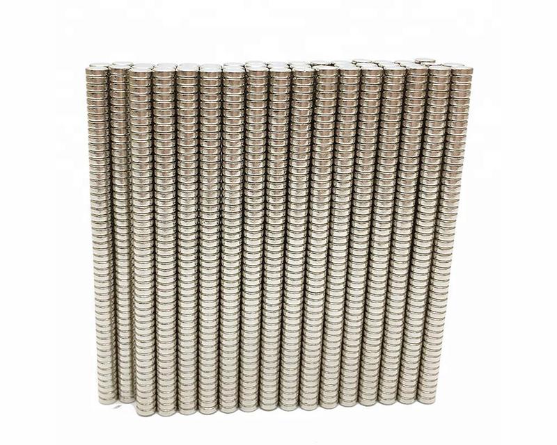 镀金N35 N38 N40 N42 N45 48 N50 N52 圆片钕铁硼磁铁