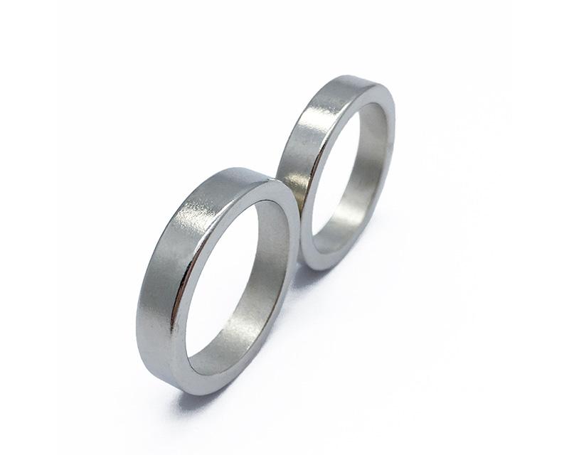 定制尺寸钕铁硼钕环磁铁n45
