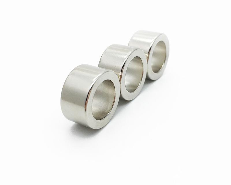 现货供应钕铁硼强磁圆环磁铁16*6-10.1戒指磁环 巴马阀强力吸铁石