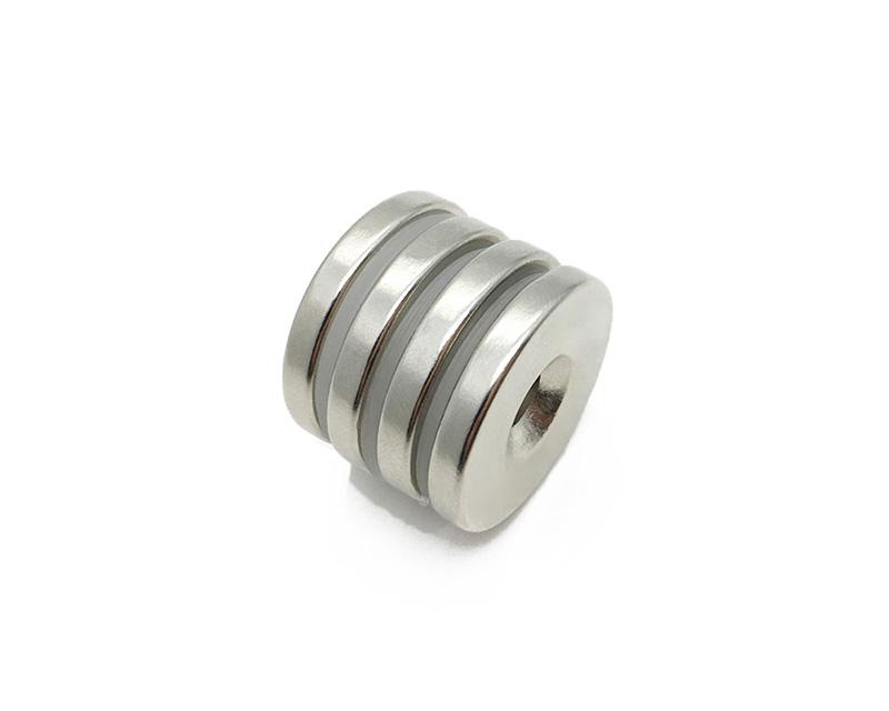消费电子电声耳机磁铁高性能烧结钕铁硼磁铁