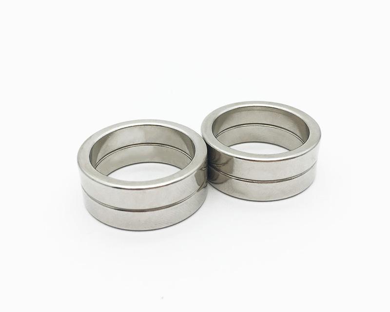热销廉价定制N38M钕铁硼环钕锌磁铁