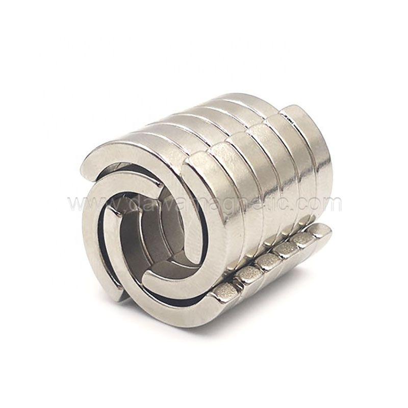 供应耐高温钕铁硼强磁磁瓦电机片 伺服电机磁铁磁瓦